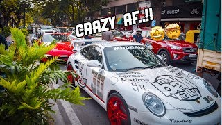 Supercars shutdown the streets of India (supercars in India)