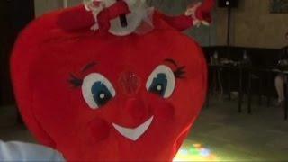 Ростовая кукла-сердце на свадьбу , юбилей Иваново!