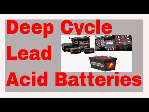 Tips To Prolong The Life Of Deep Cycle Lead Acid Batteries | Deep Cycle Lead Acid Battery 12v