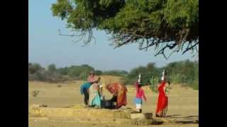 Rajasthani women at a water-well in Khuri