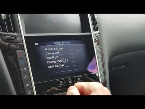 Infiniti Q50/Q60/QX30/New QX50 Settings Reset