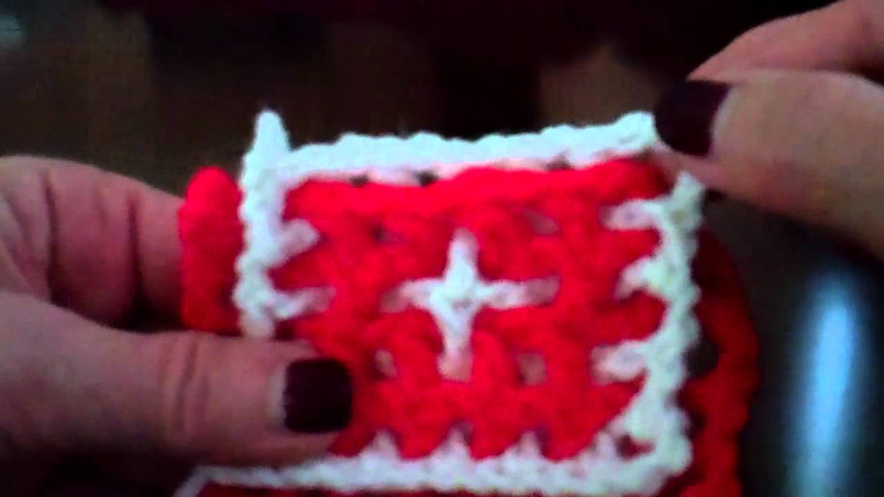 Interlocking Crochet™ - Granny Squares & Lacy Granny Squares - YouTube