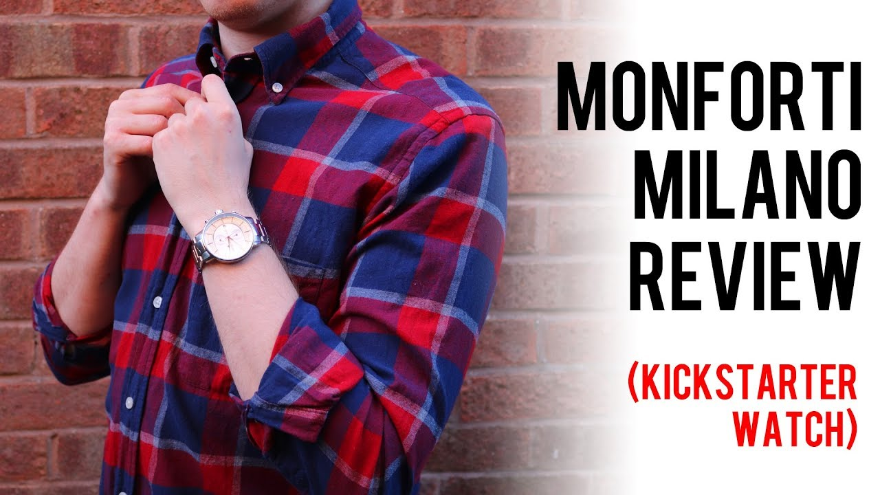 Best kickstarter watches monforti milano watch review honest youtube for Monforti watches