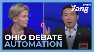 Andrew Yang on Automation - Ohio #DemDebate
