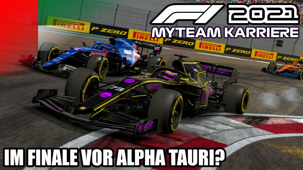F1 2021 My Team Karriere #21: Im Finale vor Alpha Tauri?