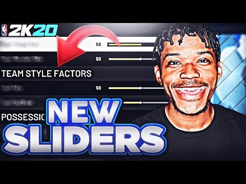 These New NBA 2K20 Sliders Broke The Game...