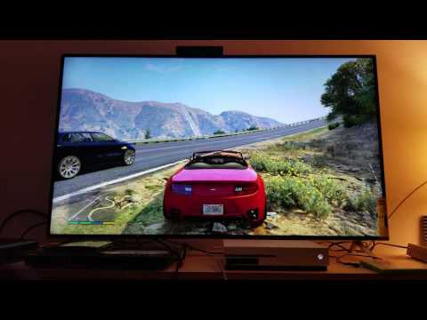 Grand Theft Auto 5 : Looks Stunning on Xbox One S Upscaling to 4K Vizio M55-C2  UHDTV