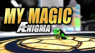FINDING MY FIRST MAGIC CARD | Ænigma in Roblox | iBeMaine