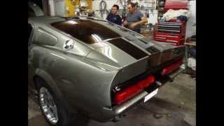 Mustang eleanor restauration