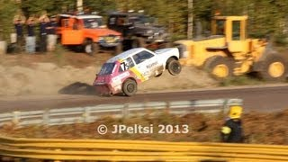 Fiat 133 wheelie at Jokkis team race 8.9.2013