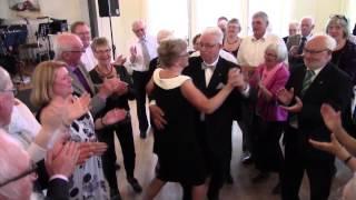 Brudevalsen - Guldbryllup - Jette på harmonika