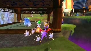 Test de capture GameCube - Spyro : Enter The Dragonfly