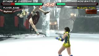 Tekken 6 - Zafina Vs Azuka - User video