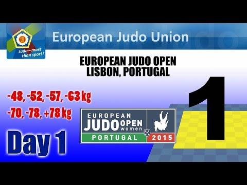 European Judo Open 2015 - Lisbon (POR) - Final Block - MAT 1