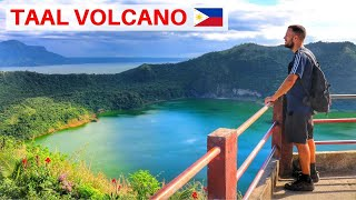 HIKING THE DANGEROUS TAAL VOLCANO 🌋🇵🇭 THE PHILIPPIN...