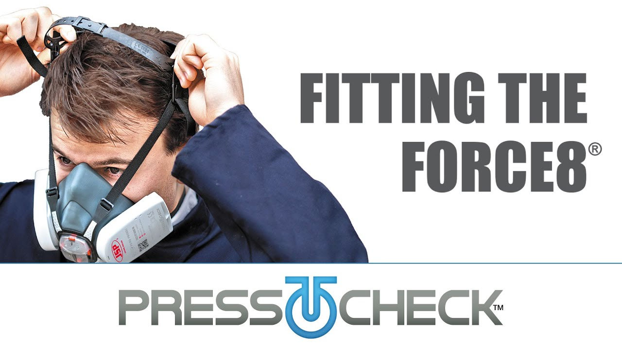 Press To Check™ How to Fitting Guide (JSP Force8™ Half-Mask)