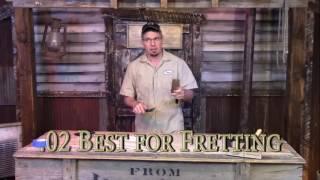 C. B. Gitty's Cigar Box Guitar Fretting How-To