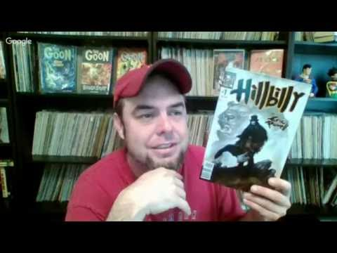Hillbilly and the Importance of Eric Powell. Comic Book Live Show