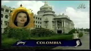MISS WORLD 1996 Parade Of Nations ( 1 )
