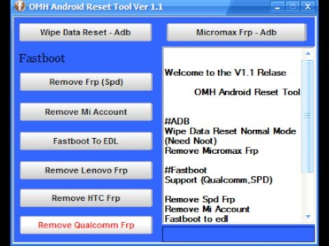 Universal hard reset tool latest version free download for all.