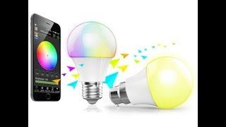 Bluetoothe Led лампа smart Magic Blue  Обзор(, 2016-01-02T19:03:03.000Z)