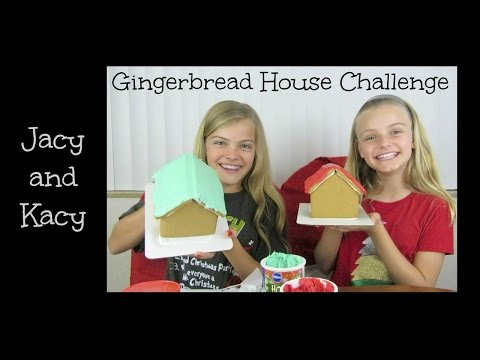 Gingerbread House Challenge 2014 ~ Jacy and Kacy