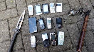 9 Wege um ein Handy zu zerstören! - Ist ein altes Nokia unzerstörbar?