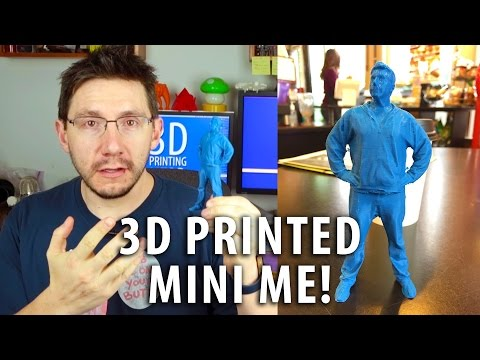 3D Printing a Mini Me with Holodeck 3D Studios