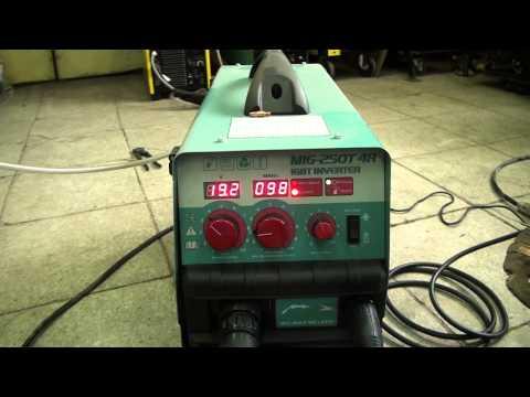 GROVERS MIG 250T живой звук работы тонкого металла 2мм