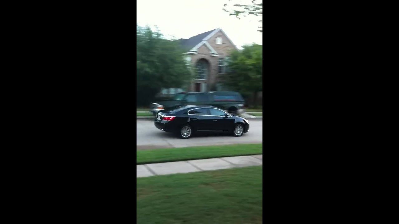 2011 Buick Lacrosse Cxs Tinted Windows Youtube