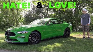 5 Things I HATE & LOVE about my Ford Mustang GT!