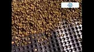Protecto Drain HDPE Waterproofing and Drainage Membrane
