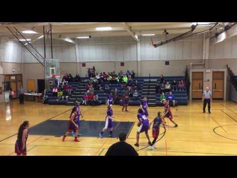 Sabrina basketball Tefft middle school versus Eastview 2/6 4