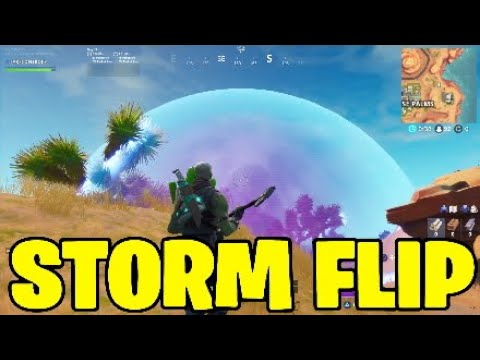 Fortnite Storm Flip Gameplay.Hunting Rifle Vaulted,Boom Bow Nerf - V9.20 Patch Notes