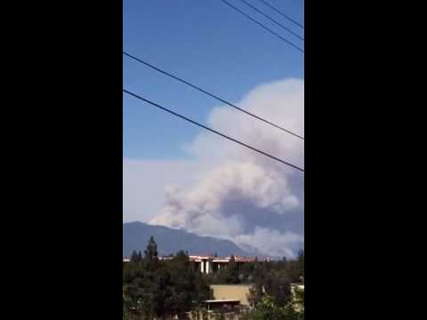 Breaking news Los Angeles Duarte and Azusa fires 3:30 update