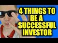 4 Things You Need To Overcome To Be A Successful Investor In The Stock Market