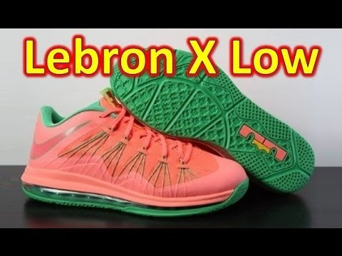sports shoes 84788 acf64 Nike Lebron X Low