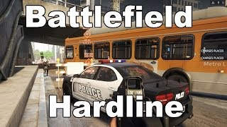 Battlefield Hardline Multiplayer COPS Gameplay Closed Beta (PC)