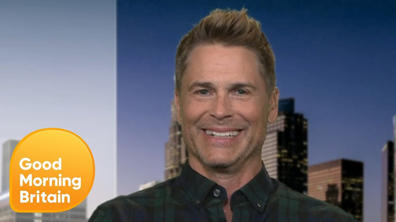 Rob Lowe Sets The Record Straight On His Prince William Hair Loss Comments Good Morning Britain Youtube