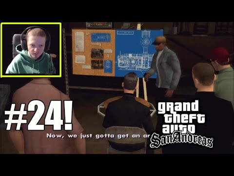 CJ Plans To Rob Caligula's Casino- GTA San Andreas Part 24