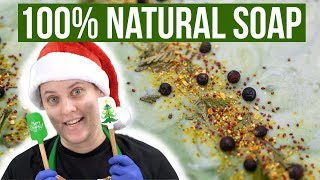 Download Making a 100% Natural Holiday Soap - Cold Process Soap Making with Essential Oils | Royalty Soaps Mp3 and Videos