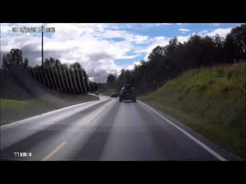 Bærums Verk - Bergen, 18.08.2013 (x4) /// Dash Cam Norway