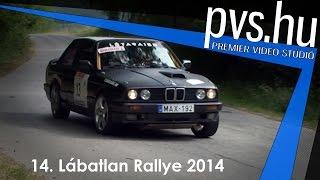 Szombati István - Szabó Gyula - BMW E30 - 14. Lábatlan Rallye