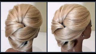 Красивые Прически.Подробное обучение прическам.Course on hairstyles.Beautiful hairstyles.