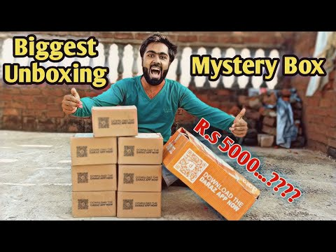 Daraz Biggest unboxing !! Biggest mystery Box ever ?? Daraz unboxing 2020 !! Gadgets Unbox