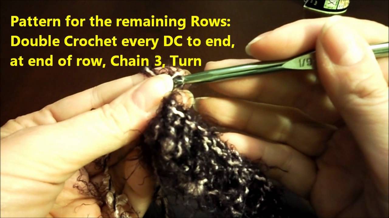 DIY How to Crochet a Mobius (Infinity) Scarf - YouTube