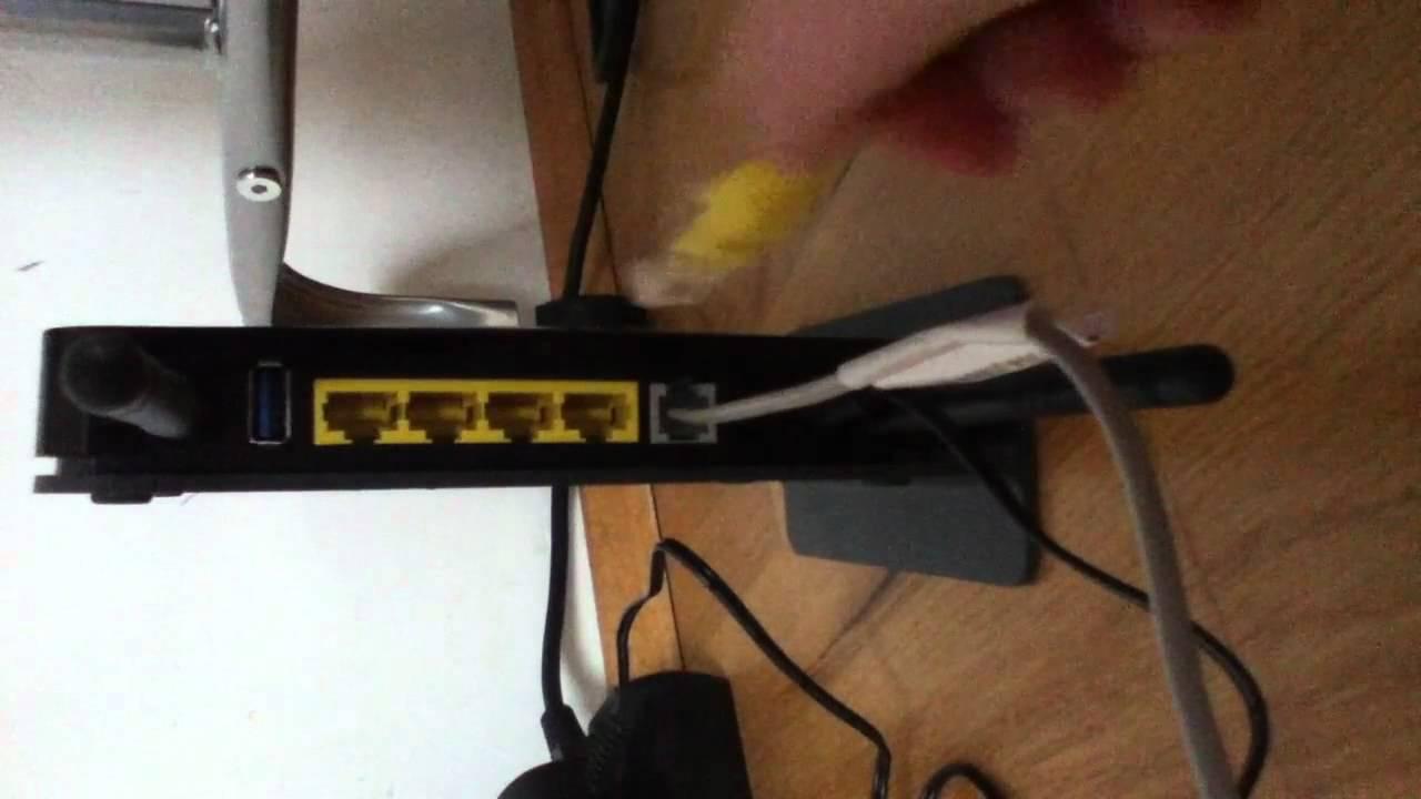 Wlan Router anschließen - so geht\'s - YouTube