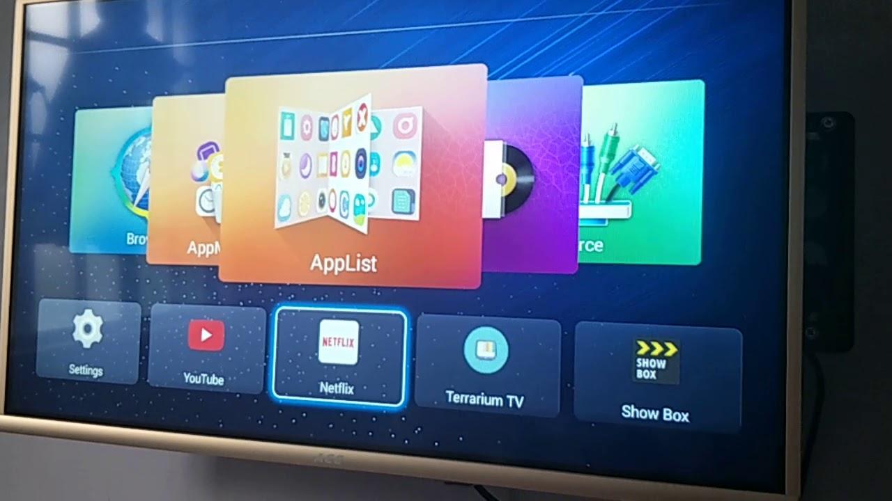 Ace 32 inch smart tv netflix