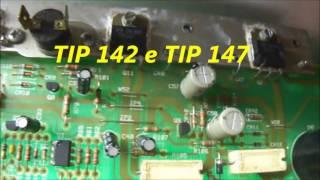 Defeito e conserto Caixa amplificada Fender Deluxe 112 Plus