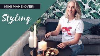 Styling makeover van de woonkamer met HEMA | Sanny zoekt Geluk